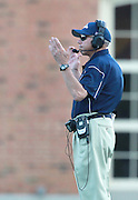 Samford Coach Pat Sullivan during the game against  Wofford at Seibert Stadium in Homewood, Ala., Saturday, Oct 13, 2012. Samford defeats Wofford 24-17 in Overtime. (Marvin Gentry)