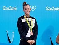 CAGNOTTO Tania ITA Italy bronze medal<br /> 3m springboard final<br /> Rio de Janeiro  XXXI Olympic Games <br /> Olympic Aquatics Stadium <br /> diving 14/08/2016<br /> Photo Giorgio Scala/Deepbluemedia/Insidefoto