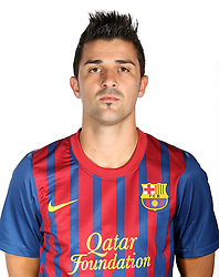 24.08.2011, Barcelona, ESP, FC Barcelona Fotocall, im Bild Portrait von David Villa, EXPA Pictures © 2011, PhotoCredit: EXPA/ Alterphotos/ ALFAQUI/ Gregorio