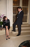 Anastasia Gorbechev and Anton Arzhakov, Crillon 2004 Debutante Ball. Crillon Hotel. Paris. 26 November 2004. ONE TIME USE ONLY - DO NOT ARCHIVE  © Copyright Photograph by Dafydd Jones 66 Stockwell Park Rd. London SW9 0DA Tel 020 7733 0108 www.dafjones.com