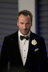 February 24, 2019 - Beverly Hills, California, U.S - Tom Ford on the red carpet of the 2019 Vanity Fair Oscar Party held at the Wallis Annenberg Center in Beverly Hills, California on Sunday February 24, 2019. JAVIER ROJAS/PI (Credit Image: © Prensa Internacional via ZUMA Wire)