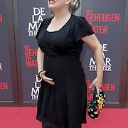 NLD/Amsterdam/20120617 - Premiere Het Geheugen van Water, zwangere Anne-marie Jung