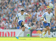 Samoa Tusi Pisi converts during the Rugby World Cup 2015 match between Samoa and USA at the Brighton Community Stadium, Falmer, United Kingdom on 20 September 2015.