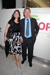 STEPHEN QUINN and KIMBERLEY FORTIER at a reception hosted by Vogue magazine to launch photographer Tim Walker's book 'Pictures' sponsored by Nude, held at The Design Museum, Shad Thames, London SE1 on 8th May 2008.<br />