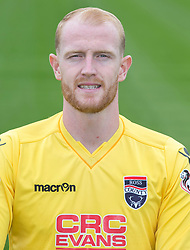 Ross County 'keeper Aaron McCarey.