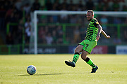 Carl Winchester of Forest Green Rovers passes during the EFL Sky Bet League 2 match between Forest Green Rovers and Stevenage at the New Lawn, Forest Green, United Kingdom on 21 September 2019.