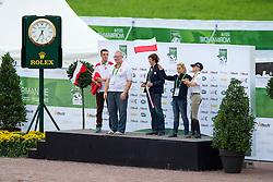 Marlusz Woszczek, (POL), Ingria - Individual Test Grade Ib Para Dressage - Alltech FEI World Equestrian Games™ 2014 - Normandy, France.<br /> © Hippo Foto Team - Jon Stroud <br /> 25/06/14