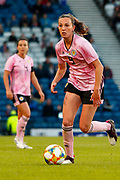 Scotlands Caroline WEIR (Manchester City WFC (ENG))  during the International Friendly match between Scotland Women and Jamaica Women at Hampden Park, Glasgow, United Kingdom on 28 May 2019.
