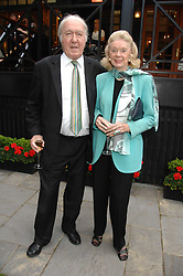 ANDREW & SONIA SINCLAIR at a reception for the Friends of The Castle of Mey held at The Goring Hotel, London on 20th May 2008.<br />
