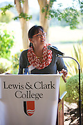 This is an event for incoming first-year and transfer students and their<br />families to meet one another and to learn about Lewis &amp; Clark. It also gives new<br />students the opportunity to get to know fellow classmates before the fall<br />semester begins. Our hosts at the Country Club are Gary and Jill Wang,<br />members of L&amp;C's Parents Council and parents of Robert Wang '19. L&amp;C<br />President Barry Glassner will give welcoming remarks.