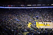 Golden State Warriors guard Stephen Curry (30) shoots a free throw against the LA Clippers at Oracle Arena in Oakland, Calif., on February 23, 2017. (Stan Olszewski/Special to S.F. Examiner)