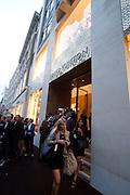 Louis Vuitton openingof New Bond Street Maison. London. 25 May 2010. -DO NOT ARCHIVE-© Copyright Photograph by Dafydd Jones. 248 Clapham Rd. London SW9 0PZ. Tel 0207 820 0771. www.dafjones.com.