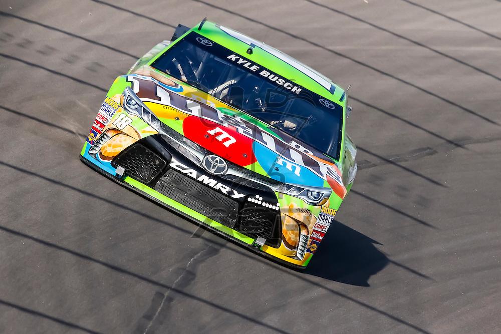 Kansas City, KS - Sep 16, 2015:  The NASCAR Sprint Cup Series teams take to the track for the NASCAR Test at Kansas Speedway in Kansas City, KS.