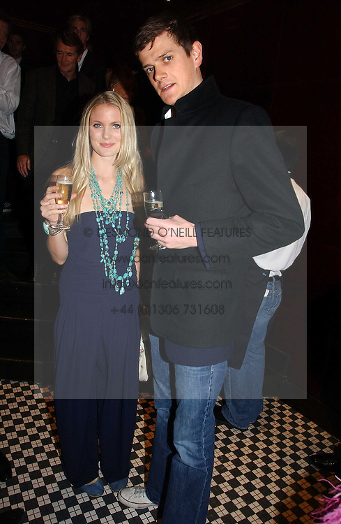 The HON.ALEXANDER SPENCER-CHURCHILL and WILLOW CORBETT-WINDER at The Christmas Cracker - an evening i aid of the Starlight Children's Charity held at Frankies, Knightsbridge on 13th December 2006.<br /><br />NON EXCLUSIVE - WORLD RIGHTS