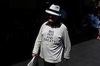 Big hot and sweaty T-shirt, Sydney, Australia. January 2nd-11th 2007