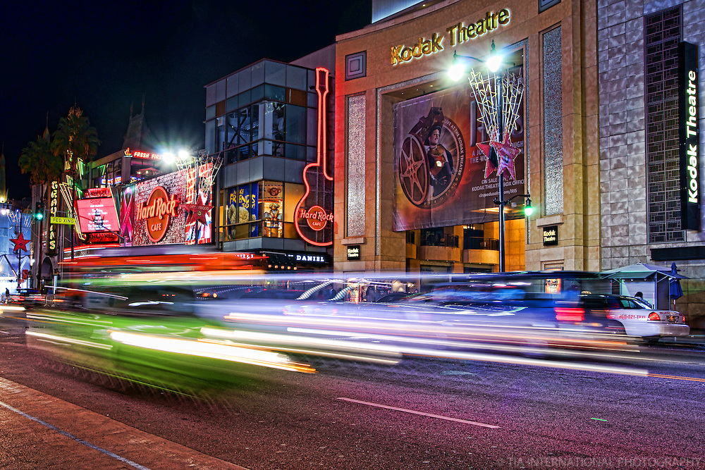Kodak Theatre, Hollywood Boulevard