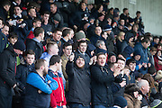 Dundee fans - Dumbarton v Dundee, William Hill Scottish Cup fifth round at The Cheaper Insurance Direct Stadium <br /> <br />  - &copy; David Young - www.davidyoungphoto.co.uk - email: davidyoungphoto@gmail.com