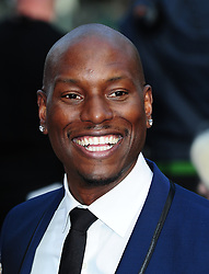 "File photo dated 07/05/2013 of Tyrese Gibson who has hit out at Dwayne ""The Rock"" Johnson for ""breaking up the Fast family""."
