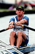 Henley Royal Regatta, Henley on Thames, AUS M1X Peter Antonie, ENGLAND, 1995, © Peter Spurrier/Intersport Images Tel +44 [0] 7973 819 551 / email images @intersport-images. com[Mandatory Credit Peter Spurrier/ Intersport Images] . HRR.