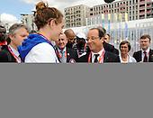 20120730 France Natation Jeux Olympiques Londres Village Olympique