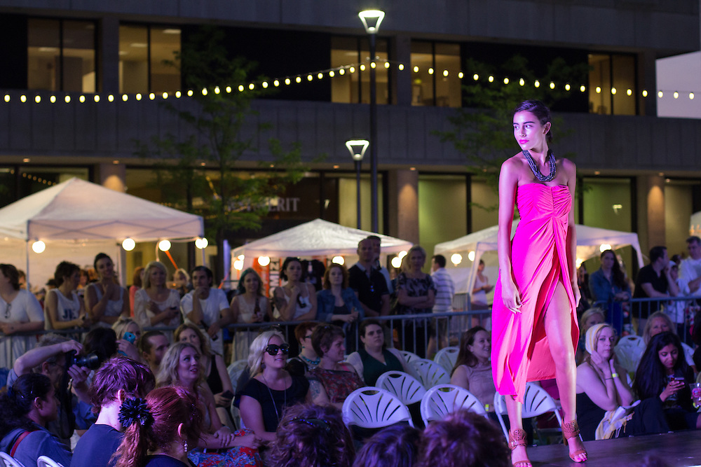 Fashion from NOTO, founder of the Downtown Akron Show