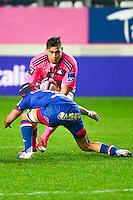 Raphael LAKAFIA / Jonathan WISNIEWSKI - 14.03.2015 - Stade Francais / Grenoble -  20eme journee de Top 14<br /> Photo : David Winter  / Icon Sport<br /> <br />   *** Local Caption ***