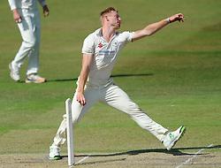 Liam Norwell of Gloucestershire - Photo mandatory by-line: Dougie Allward/JMP - Mobile: 07966 386802 - 09/07/2015 - SPORT - Cricket - Cheltenham - Cheltenham College - LV=County Championship 2
