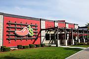 Chilis Restaurant on Shoreline Drive Near the Convention Center and Aquarium