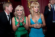 LIZ BREWER; SALLY FARMILOE, Miss Great Britain - anniversary event. The Red Room, Les Ambassadeurs Club, 5 Hamilton Place, London W1 18 August 2010. -DO NOT ARCHIVE-© Copyright Photograph by Dafydd Jones. 248 Clapham Rd. London SW9 0PZ. Tel 0207 820 0771. www.dafjones.com.