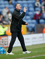 Photo: Steve Bond/Richard Lane Photography. Leicester City v Huddersfield Town. Coca Cola League One. 24/01/2009. Nigel Pearson gives instructions