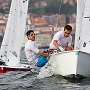 25 de octubre de 2013- Primera Jornada de la Semana del Atlántico 2013- Copa de España de Vaurien