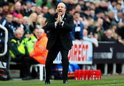 Newcastle United manager Rafa Benitez appeals - Mandatory by-line: Matt McNulty/JMP - 11/02/2018 - FOOTBALL - St James Park - Newcastle upon Tyne, England - Newcastle United v Manchester United - Premier League