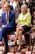 Liberal Democrat Leadership press conference. <br /> <br /> <br /> <br /> 20th July 2017 <br /> at The St Ermin&rsquo;s Hotel, London. Great Britain <br /> &nbsp;<br /> Rachel Smith - Vince Cable wife <br /> <br /> Photograph by Elliott Franks <br /> Image licensed to Elliott Franks Photography Services