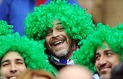 Italy fan.<br /> Scotland v Italy, Six Nations Championship, Murrayfield, Edinburgh, Scotland, Saturday 19th March 2010.<br /> Please credit ***FOTOSPORT/DAVID GIBSON***