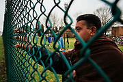 Richiedenti asilo del Cara di Castelnuovo di Porto. Roma 22 Gennaio 2019. Christian Mantuano / OneShot <br />