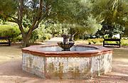 La Purisima Mission Fountain