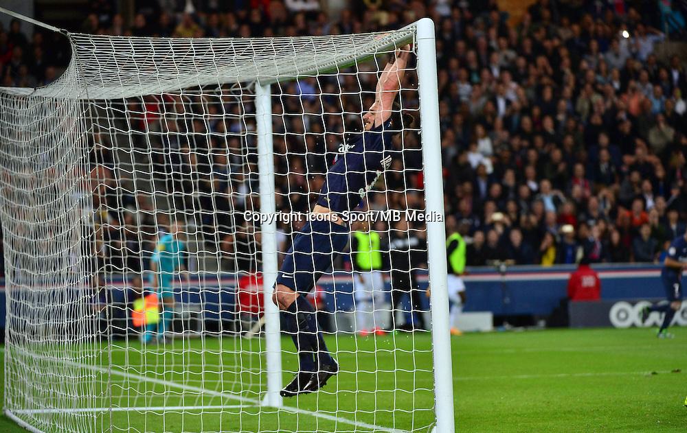 Zlatan IBRAHIMOVIC - 08.05.2015 -  PSG / Guingamp - 36eme journee de Ligue 1<br />Photo : Dave Winter / Icon Sport