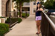 DENVER, CO - AUGUST 2: Andrea Camacho poses for a portrait on August 2, 2019, in Denver, Colorado. (Photo by Daniel Petty/Denver Catholic)