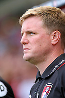 Football - 2016 / 2017 Premier League - AFC Bournemouth vs. Manchester United<br /> Bournemouth's Manager Eddie Howe at Dean Court (The Vitality Stadium) Bournemouth<br /> <br /> Colorsport/Shaun Boggust