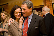 BETTINA VON HASE; CHARLES GLASS, Book launch for American's in Paris by Charles Glass hosted by Lady Annabel Lindsay. Holland Park. London. 25 March 2009 *** Local Caption *** -DO NOT ARCHIVE-© Copyright Photograph by Dafydd Jones. 248 Clapham Rd. London SW9 0PZ. Tel 0207 820 0771. www.dafjones.com.<br /> BETTINA VON HASE; CHARLES GLASS, Book launch for American's in Paris by Charles Glass hosted by Lady Annabel Lindsay. Holland Park. London. 25 March 2009