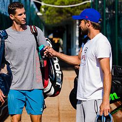 20200810: SLO, Tennis - Trening Slovenske reprezentance
