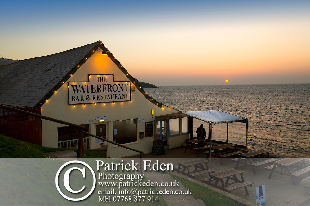 The Waterfront, Bar, Restaurant, Totland Bay, Totland, Isle of Wight, England, UK Photographs of the Isle of Wight by photographer Patrick Eden photography photograph canvas canvases