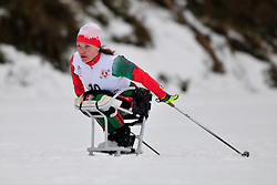 VAUCHOK Liudmila, BLR at the 2014 IPC Nordic Skiing World Cup Finals - Long Distance