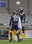 Gary Irvine  - Raith Rovers v Dundee,  SPFL Championship at Starks Park<br /> <br />  - &copy; David Young - www.davidyoungphoto.co.uk - email: davidyoungphoto@gmail.com