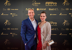 Filip Krzisnik during SPINS XI Nogometna Gala 2019 event when presented best football players of Prva liga Telekom Slovenije in season 2018/19, on May 19, 2019 in Slovene National Theatre Opera and Ballet Ljubljana, Slovenia. ,Photo by Urban Meglic / Sportida