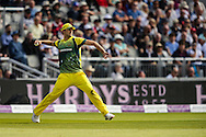 Pat Cummins of Australia fields during the 3rd One Day International match at Old Trafford Cricket Ground, Stretford<br /> Picture by Andy Kearns/Focus Images Ltd 0781 864 4264<br /> 08/09/2015