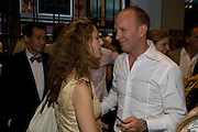 ELIZABETH SHEINKMAN; SIMON SEBAG-MONTEFIORE, Book launch party for  Sashenka, a romantic novel set in St Petersburg following a society girl who becomes involved with the Communist Party. By Simon Sebag-Montefiore. Asprey. New Bond St. London. 1 July 2008.  *** Local Caption *** -DO NOT ARCHIVE-© Copyright Photograph by Dafydd Jones. 248 Clapham Rd. London SW9 0PZ. Tel 0207 820 0771. www.dafjones.com.