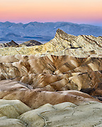 Manly Beacon at Zabriskie Point in Death Valley National Park