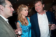 JULIA VERDIN; DANNY MOYNIHAN, The after-party after the premiere of Duncan WardÕs  film ÔBoogie WoogieÕ ( based on the book by Danny Moynihan). Westbury Hotel. Conduit St. London.  13 April 2010 *** Local Caption *** -DO NOT ARCHIVE-© Copyright Photograph by Dafydd Jones. 248 Clapham Rd. London SW9 0PZ. Tel 0207 820 0771. www.dafjones.com.<br /> JULIA VERDIN; DANNY MOYNIHAN, The after-party after the premiere of Duncan Ward's  film 'Boogie Woogie' ( based on the book by Danny Moynihan). Westbury Hotel. Conduit St. London.  13 April 2010