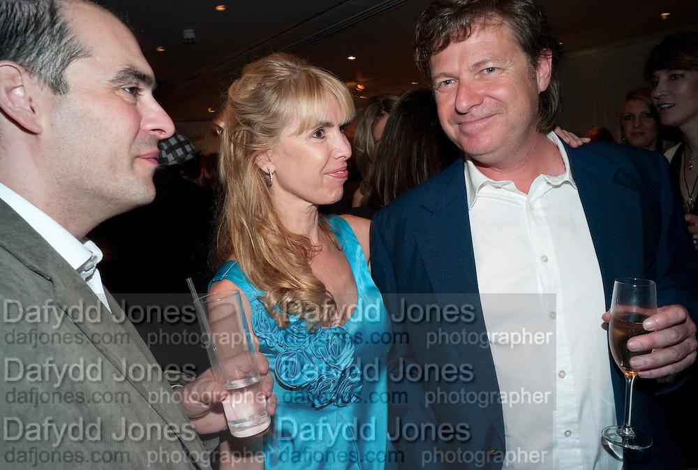 JULIA VERDIN; DANNY MOYNIHAN, The after-party after the premiere of Duncan WardÕs  film ÔBoogie WoogieÕ ( based on the book by Danny Moynihan). Westbury Hotel. Conduit St. London.  13 April 2010 *** Local Caption *** -DO NOT ARCHIVE-© Copyright Photograph by Dafydd Jones. 248 Clapham Rd. London SW9 0PZ. Tel 0207 820 0771. www.dafjones.com.<br /> JULIA VERDIN; DANNY MOYNIHAN, The after-party after the premiere of Duncan Ward's  film 'Boogie Woogie' ( based on the book by Danny Moynihan). Westbury Hotel. Conduit St. London.  13 April 2010